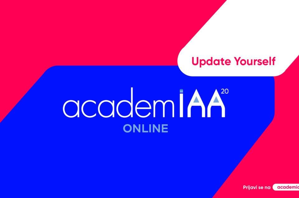 AcademIAA 2020: Rani rok za prijavu polaznika produžen do 17. oktobra